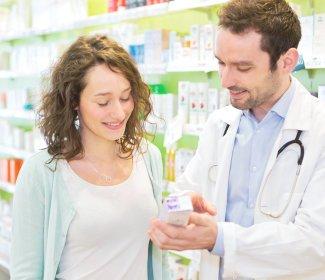 pharmacist calling on the phone